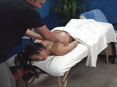 If u desire to check up how babe is getting nailed on a massage table by hot man then examine this action! Babe stands in doggie after getting great private massage from pal and receives nailed from behind.