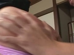 All of u guys that are into sexy butt Japanese beauties that are super horny will definitely dig this sexy fucking machine. Look at that moist round butt of hers, it is absolutely flawless and here u get to watch her wasting no time by letting those guys finger her shaggy cunt like mad as this babe gives an amazing double oral. Watch the slut engulf and fuck at the same timeshe's unbelievable!